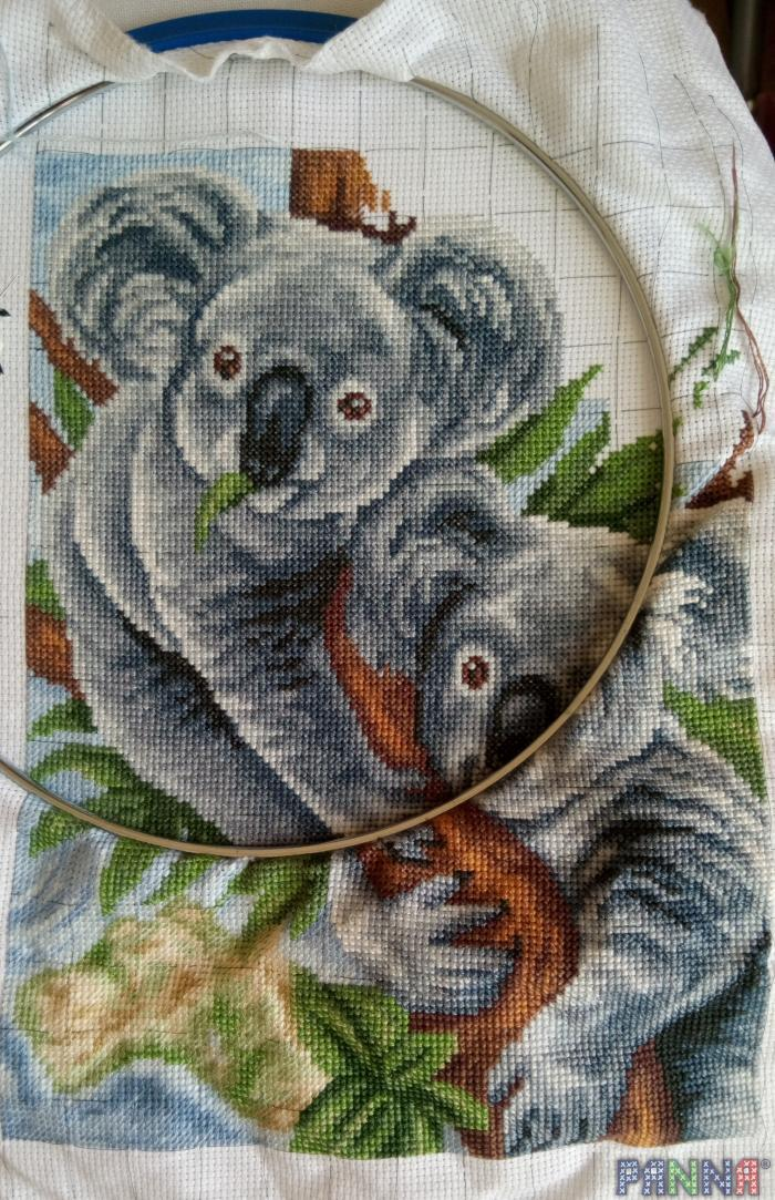 Алмазная вышивка коала 206