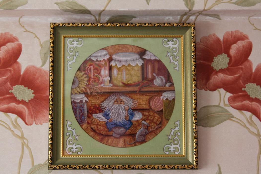 Набор вышивки крестом домовой