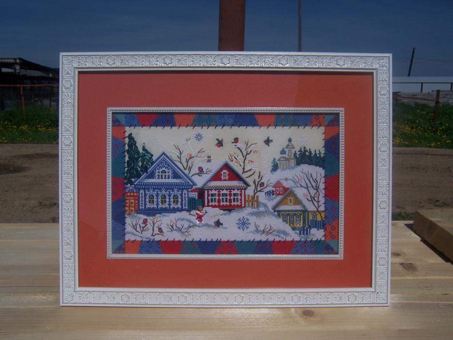 Де-1135 деревня снегири