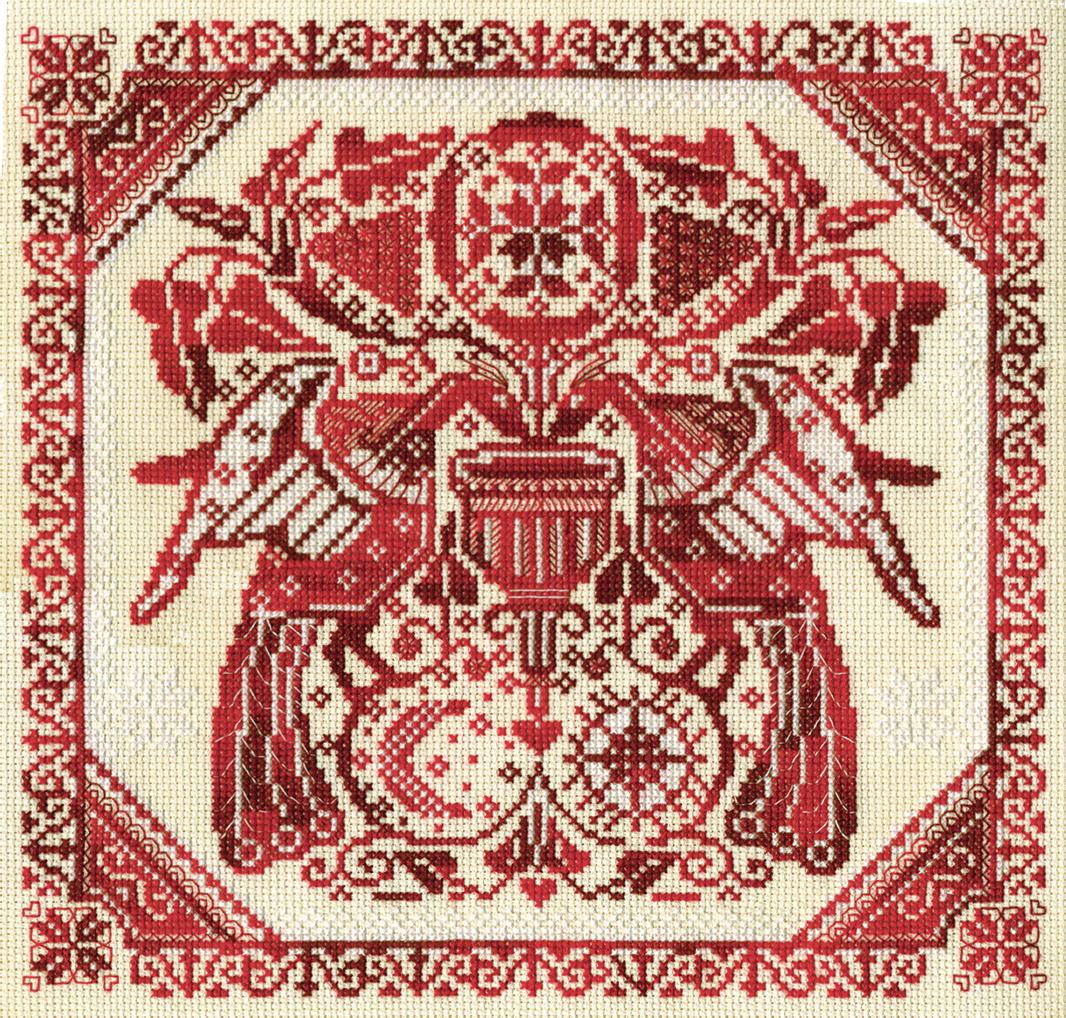 """О-1142  """"Славянский орнамент """" - Интернет-магазин товаров рукоделия вышивки крестом happy-hobby."""