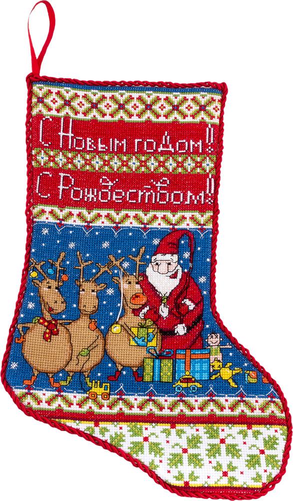 Набор для вышивания Panna ПР-1527 Веселый сапожок