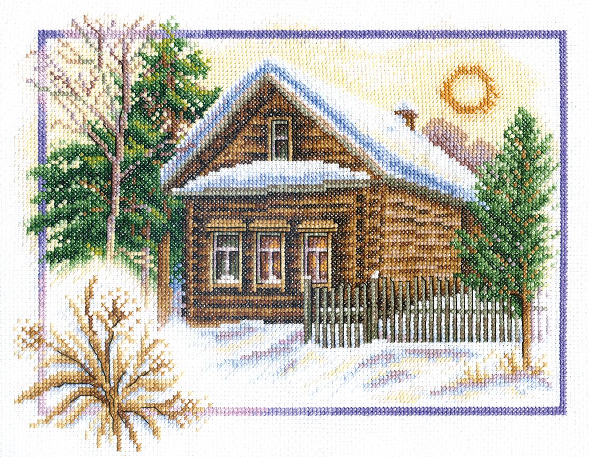 ПС-0333 Зима в деревне