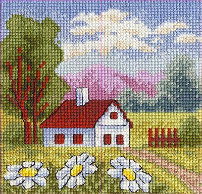Дом милый дом вышивка крестом