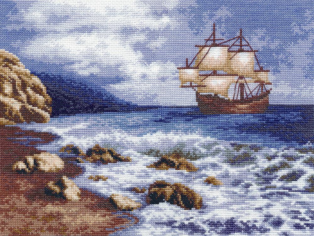 МТ-1114 Корабль в море