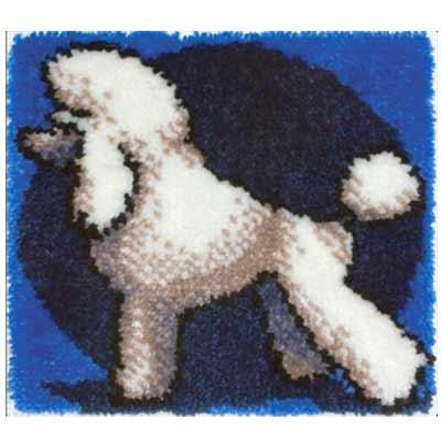 КИ-0710 Белый пудель