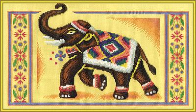 Значение вышивка слоны