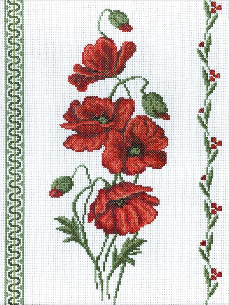 вышивания Panna Ц-0189 Мак