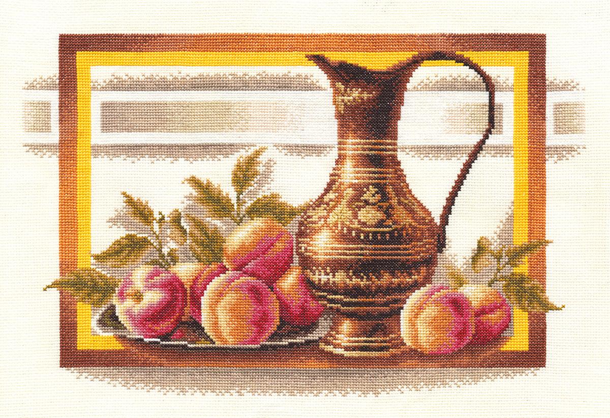 Н-0295 Натюрморт с персиками