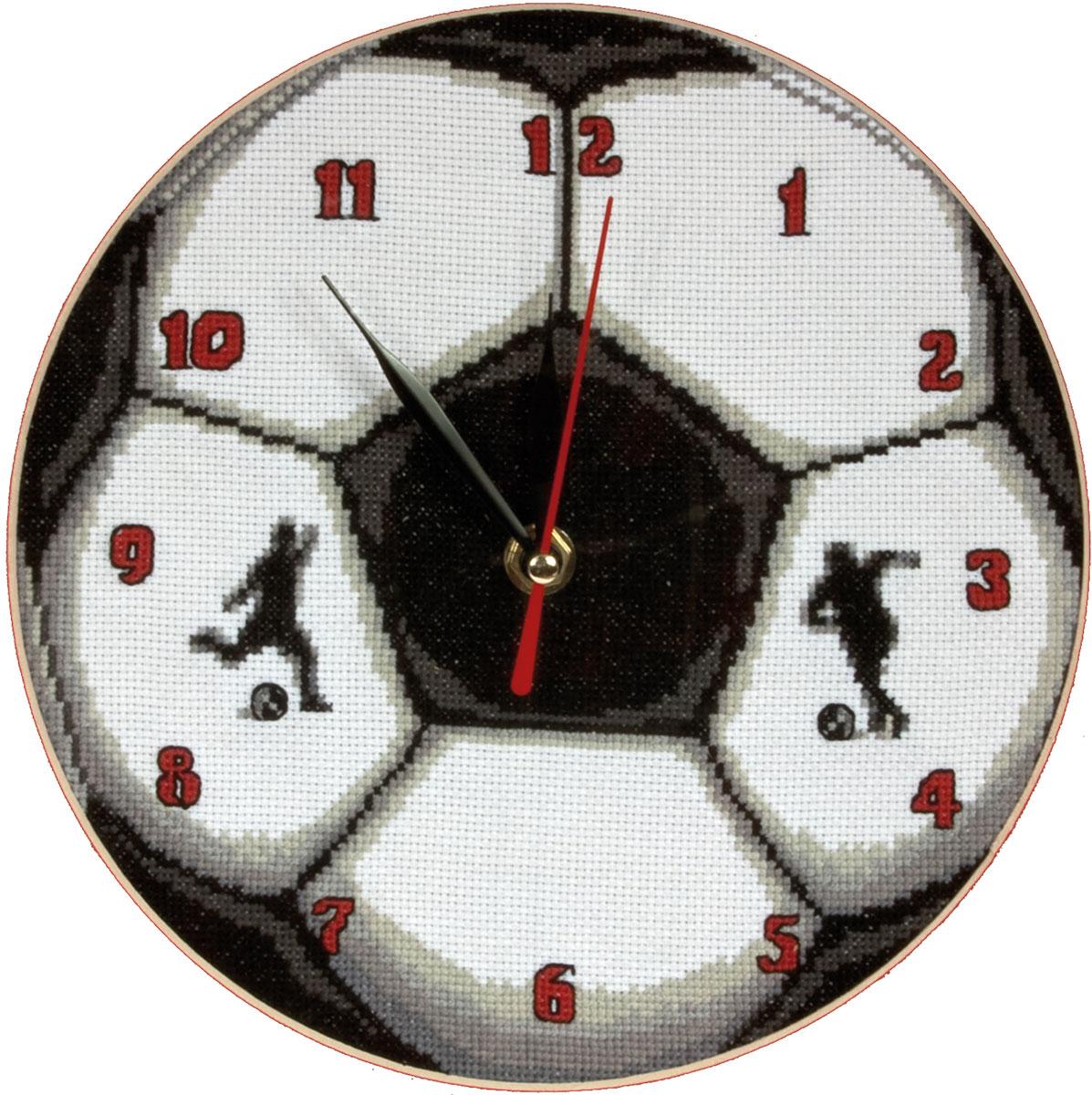 Часы. Футбольный мяч