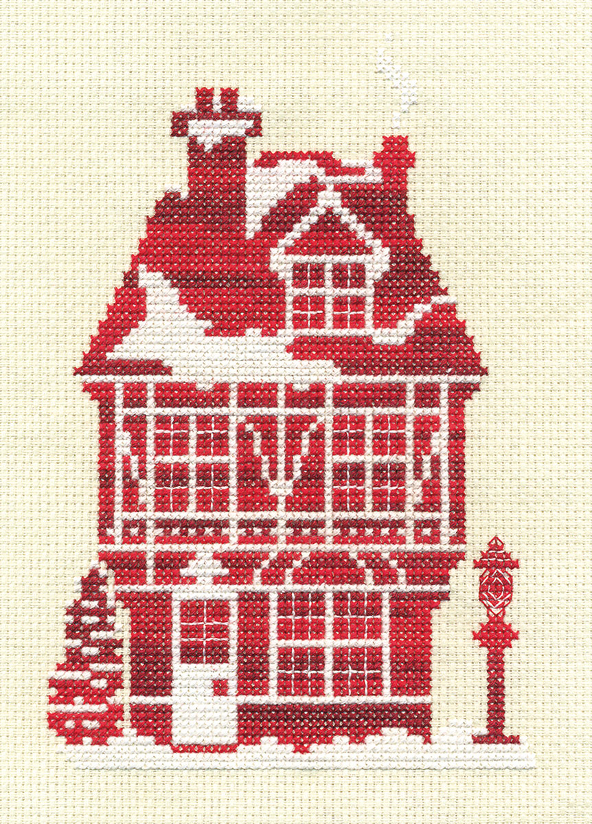 Набор для вышивания Panna Д-0850 Имбирный дом