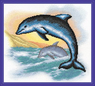 Panna Р-0953 Дельфины