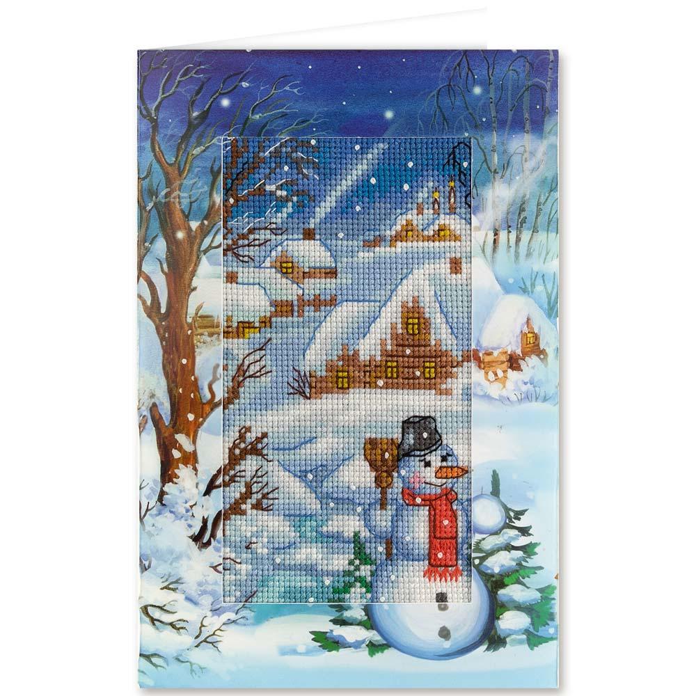 Вышивка крестом наборы открытки
