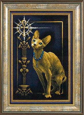 Схемы вышивки египетской кошки