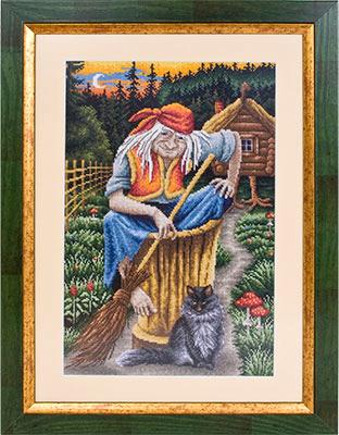 Вышивка у лукоморья панна