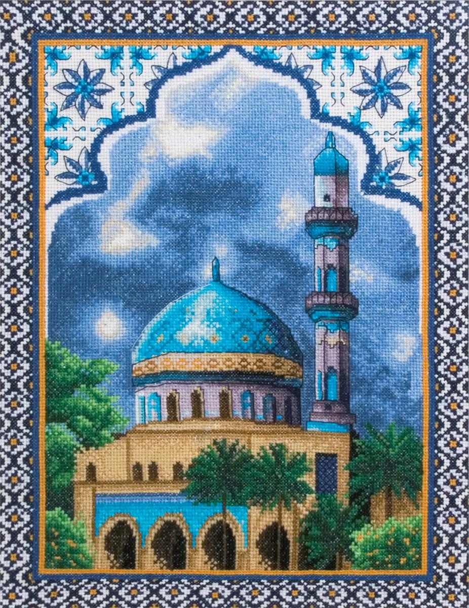 Схемы мечетей вышивка крестиком