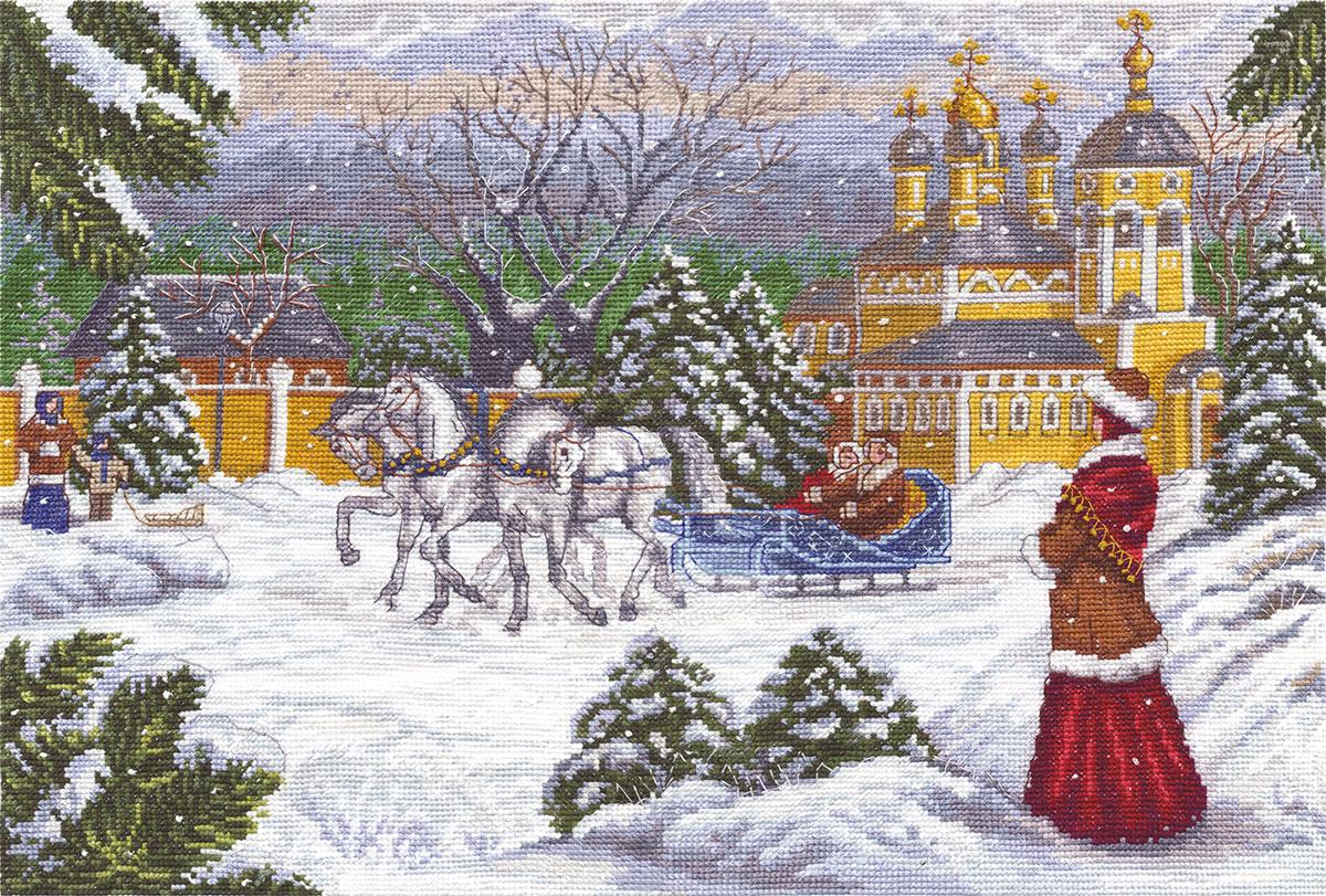 Вышивка картин крестом русских художников