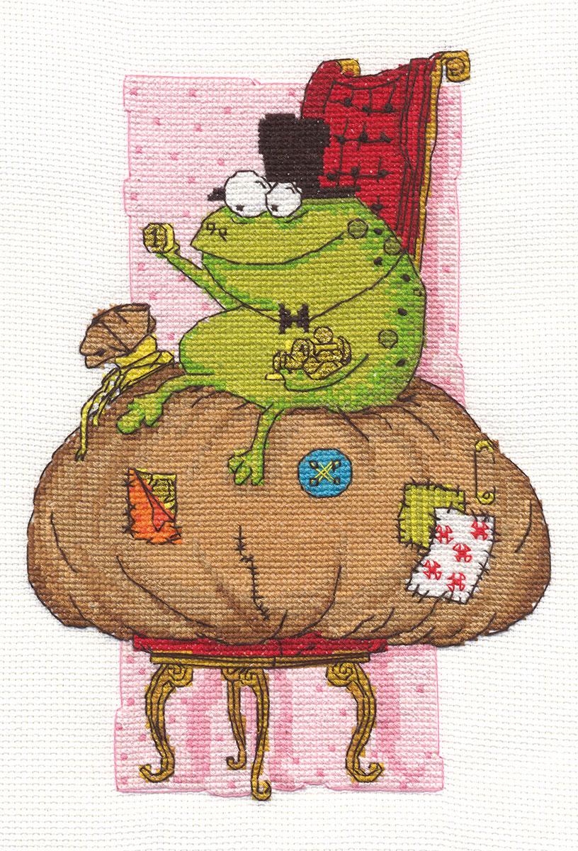 Вышивка крестом жаба схема