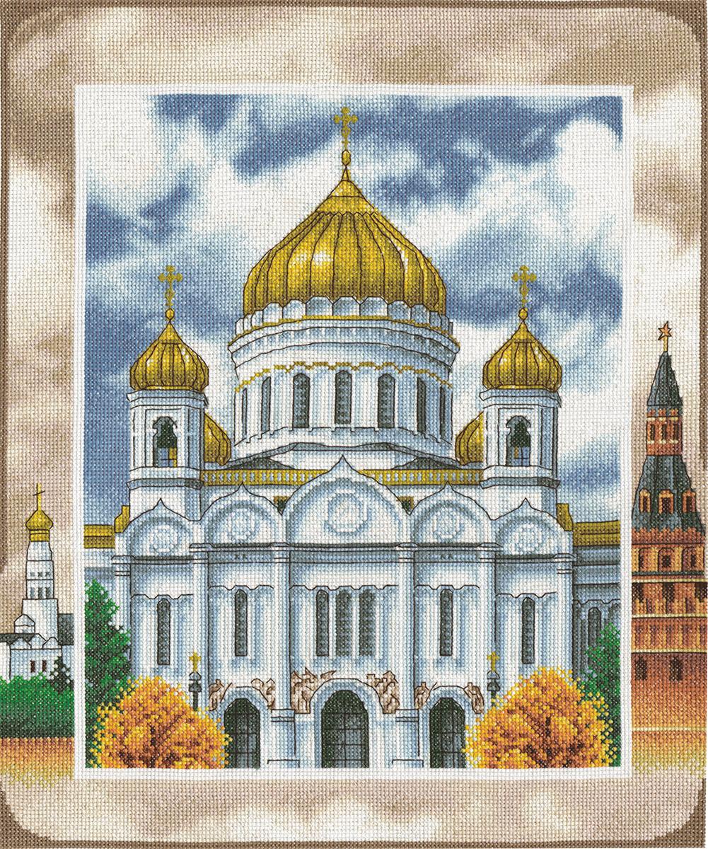 Вышивка схема храм христа спасителя