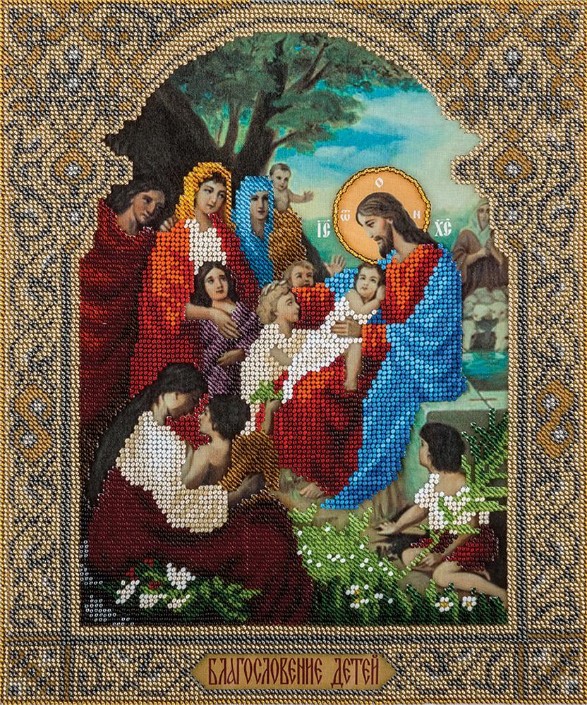 Вышивка крестом благословение