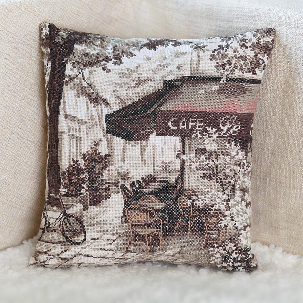 Вышивка крестом схемы кафе