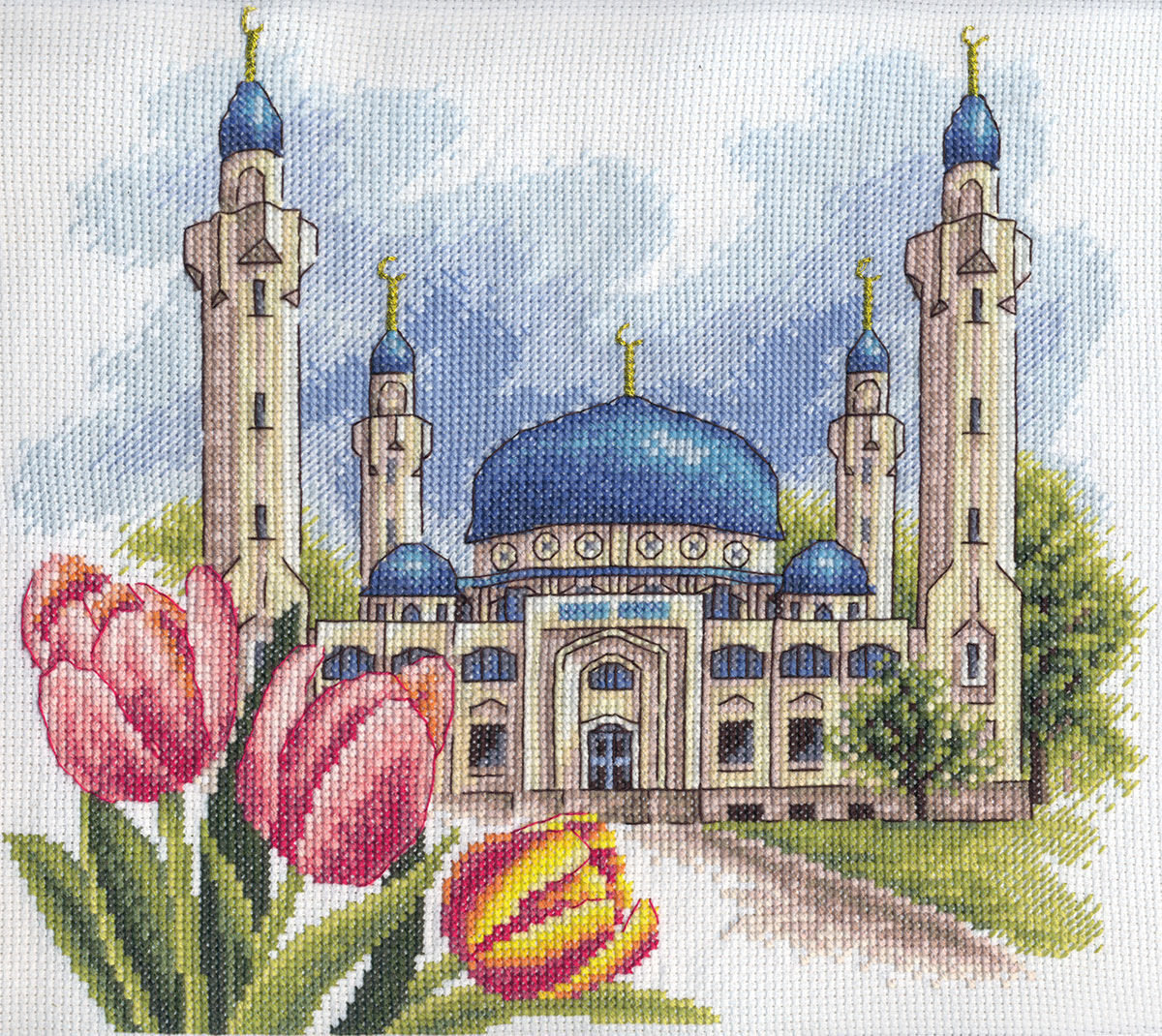 Вышивки мечети схемы для бисера
