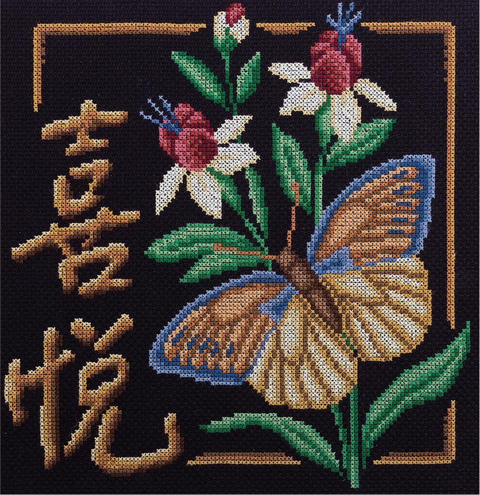 Панна вышивка крестом иероглифы