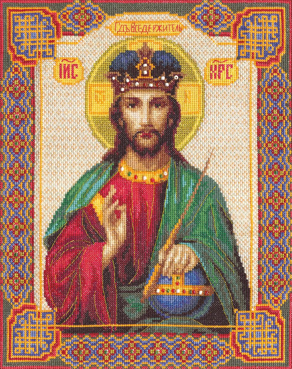 Вседержитель схема вышивки крестом