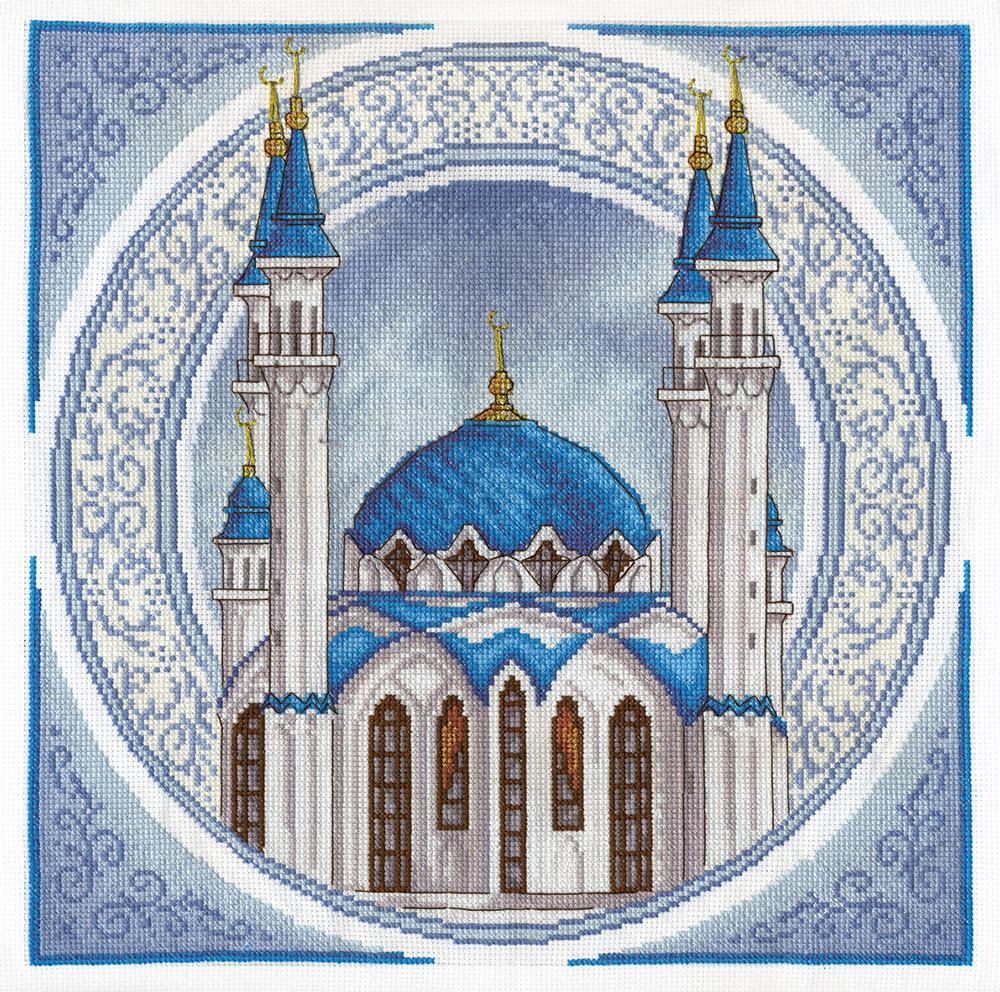 Вышивка крестом схемы мечеть кул шариф