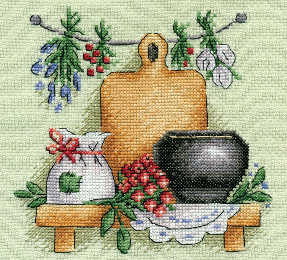 Схемы вышивки лекарственные травы