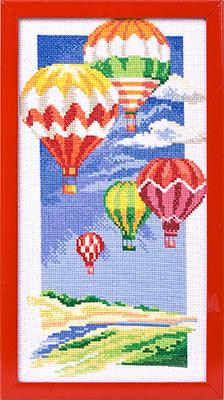 Вышивки воздушные шарики