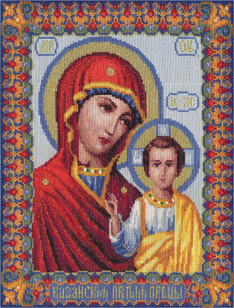 Иконы богородицы вышивание