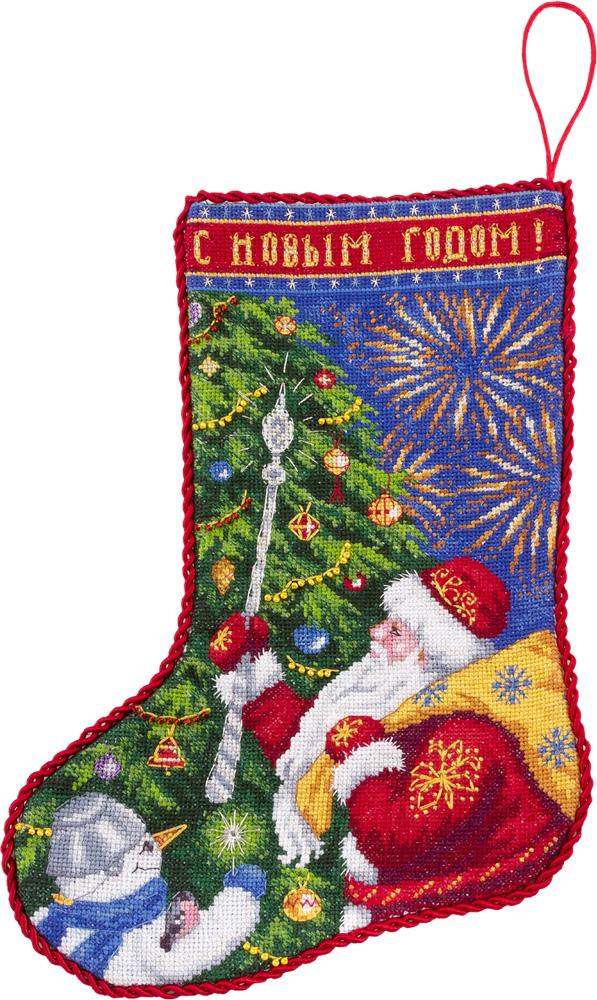 Вышивка крестом новогодний набор