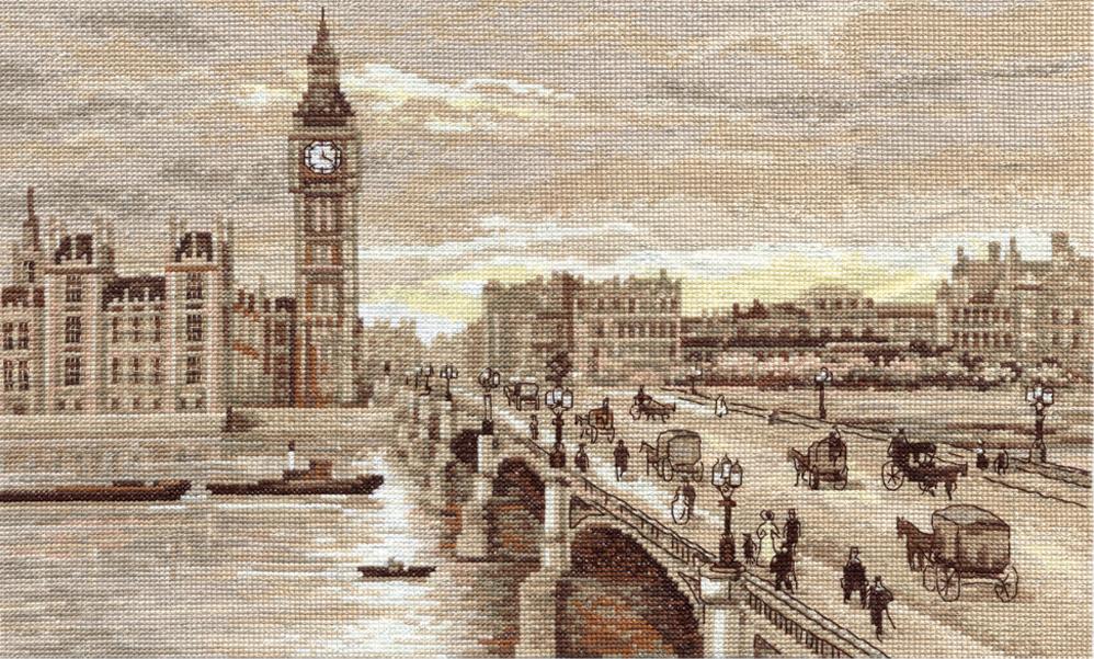 Бесплатно вышивка крестом мосты